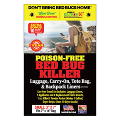 Live Free Bedbug Travel Set