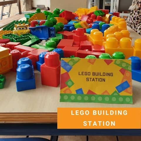 Lego Building Station