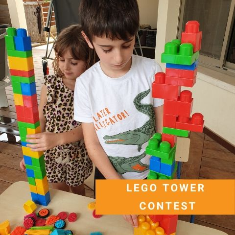 Lego Party Games - Lego Tower Contest