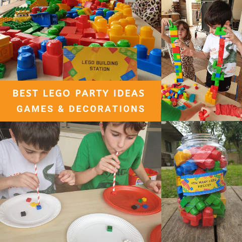 Lego Party Ideas, Games and Decorations
