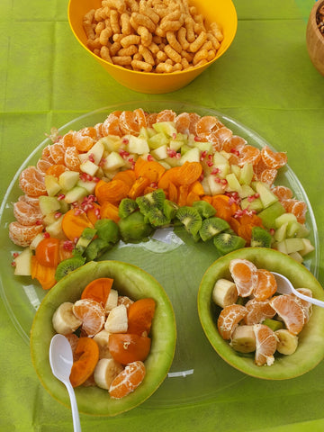 Rainbow Party Rainbow Shape Fruit Plate