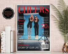 Load image into Gallery viewer, 30th Birthday Fashion Magazine Gift | Personalized 30th Birthday Gift