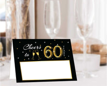 Load image into Gallery viewer, 60th Birthday Party Decorations and Invitation