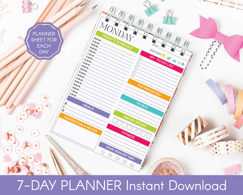 7-Day Planner