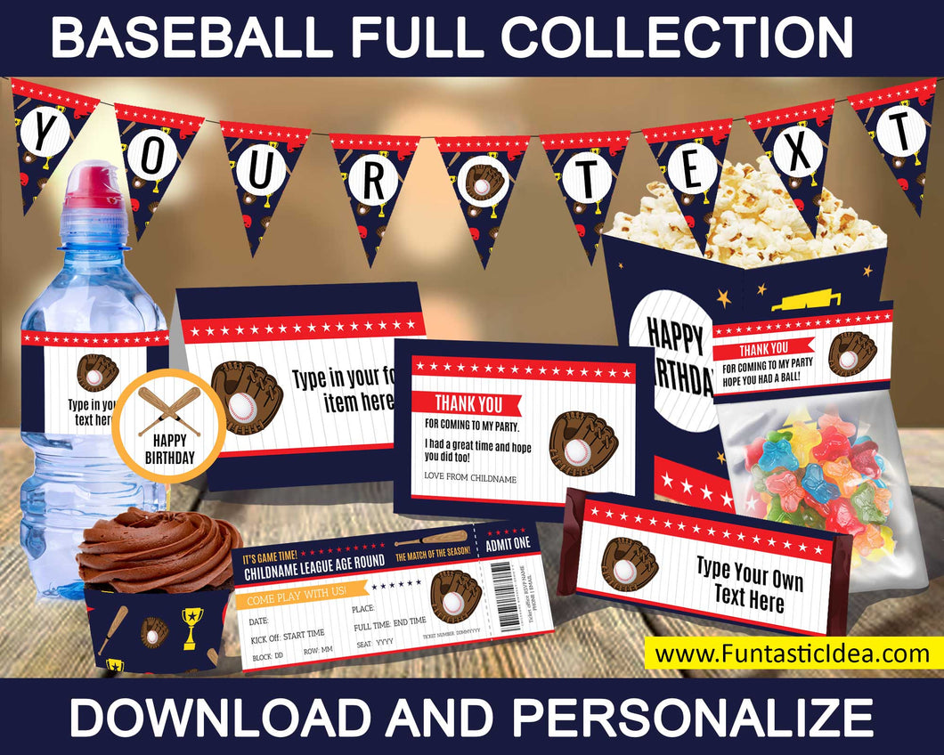 Baseball Party Full Collection
