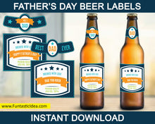 Load image into Gallery viewer, Father's Day Beer Label