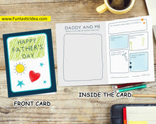 Load image into Gallery viewer, Father's Day Card from Child to Daddy