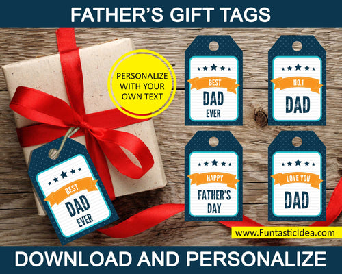 Father's Day Gift Labels