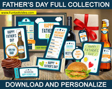Load image into Gallery viewer, Father's Day Cupcake Toppers
