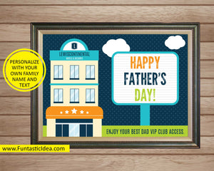 Father's Day Sign