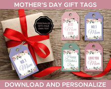 Load image into Gallery viewer, Mothers Day Gift Tags