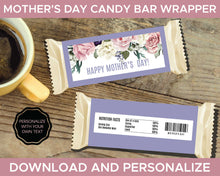 Load image into Gallery viewer, Mothers Day Candy Bar Wrapper