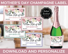 Load image into Gallery viewer, Mothers Day Champagne Labels