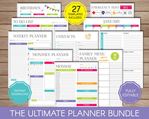 Planners Bundle