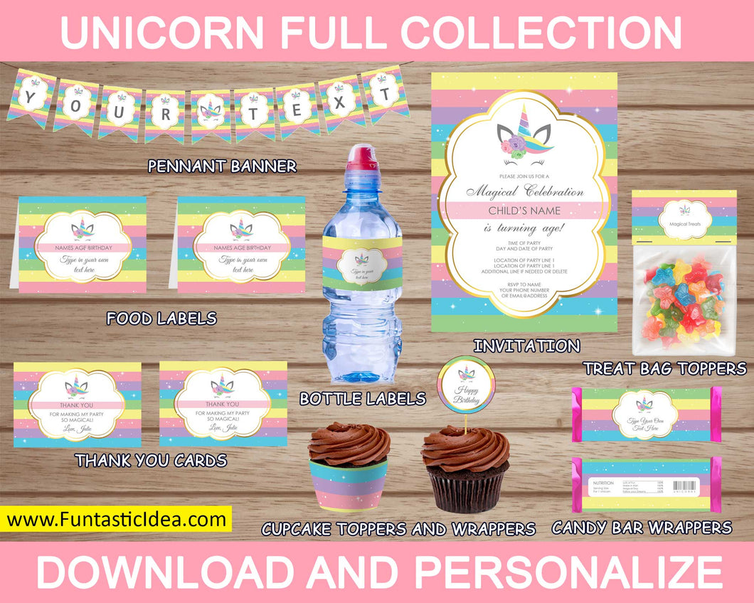 Unicorn Party Full Collection