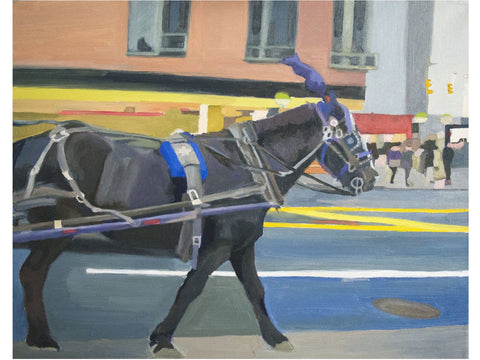 Troting NYC-Artistic Giclee prints-scottbenites
