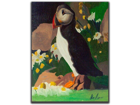 That's my Puffin Bird-Artistic Giclee prints-scottbenites