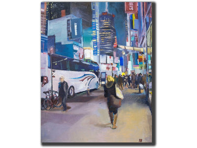 leaving-Artistic Giclee prints-scottbenites