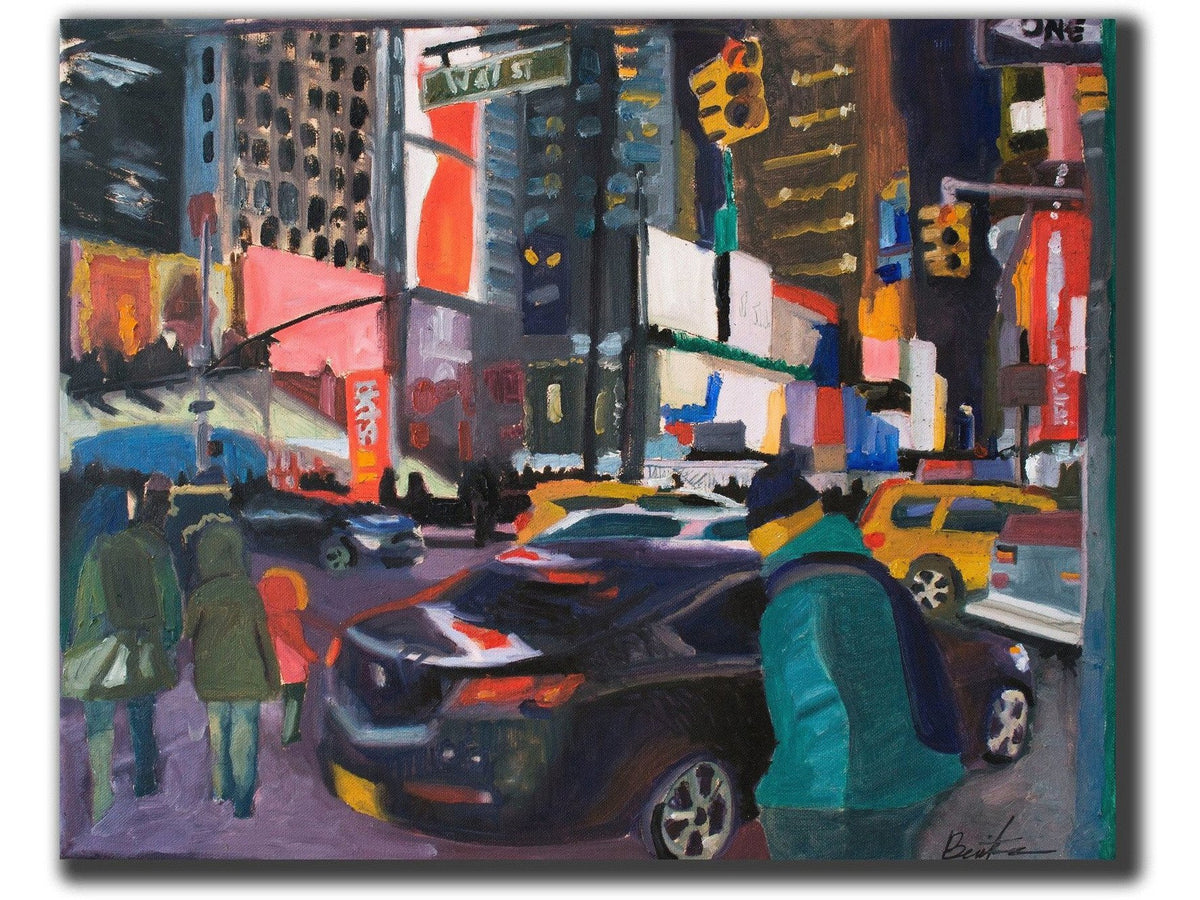 Downtown Flow-Artistic Giclee prints-scottbenites