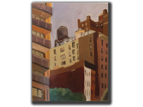 look up, 70th broadway-Artistic Giclee prints-scottbenites