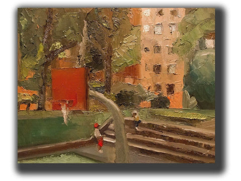 upper westside basketball court-Artistic Giclee prints-scottbenites