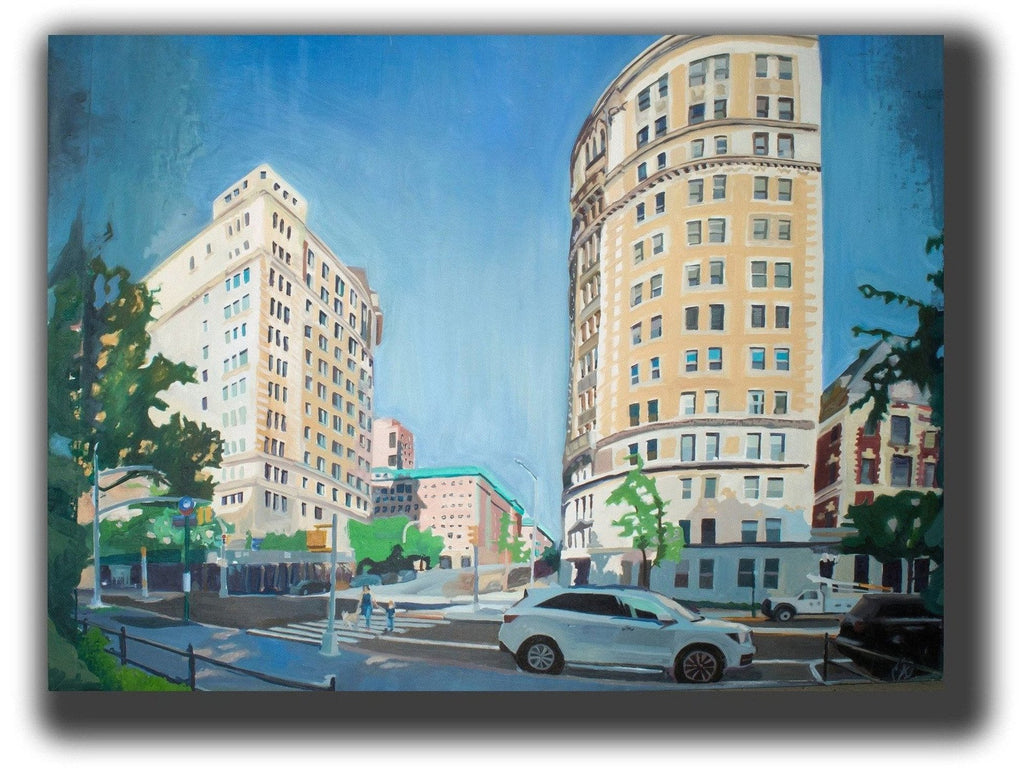 Art, realism, 21th century paintings oil on canvas, scott benites, artgalleries, galleryart, cityscapes, landscapes, paintings of birds, figures ,city architecture to urban landscapes, NYC oil painting, oil painting of new york, cityscape painting,  New York City paintings, paintings for homes, art for home, local artist,