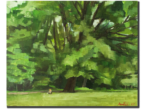 Central Park Oak Tree-Artistic Giclee prints-scottbenites
