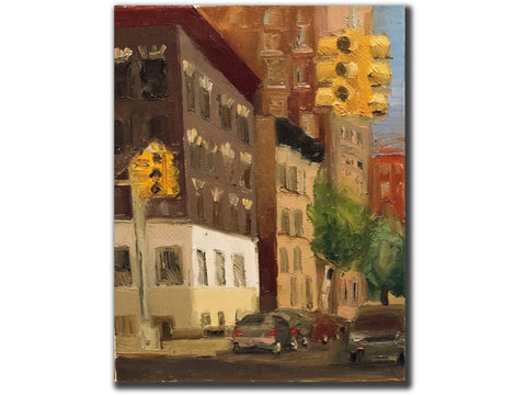 Upper Westside Late May West End Avenue-Artistic Giclee prints-scottbenites