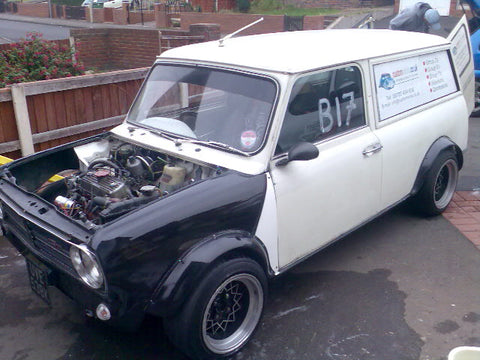Fibreglass front end (Clubman)