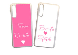 Personalised Hen Party  Bride  (your name) / Team Bride design Phone Cover