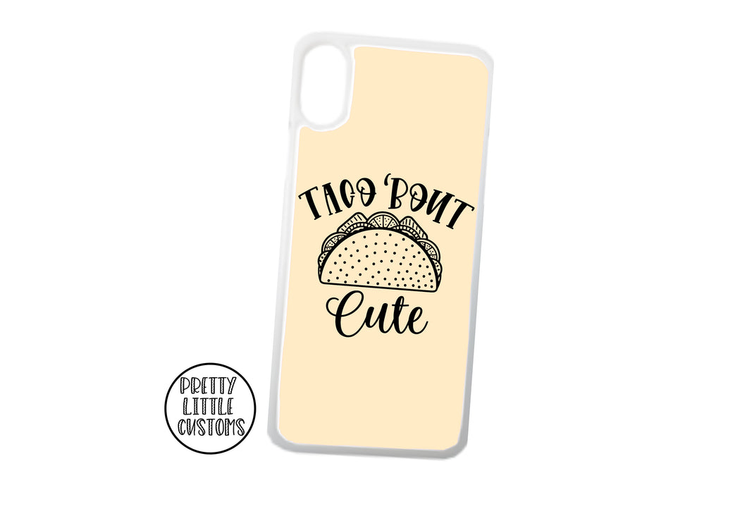 Taco 'bout cute Phone Cover -  peach