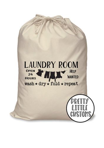 Laundry room sack / washing bag