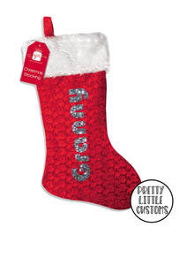 Personalised Christmas Stocking - family set