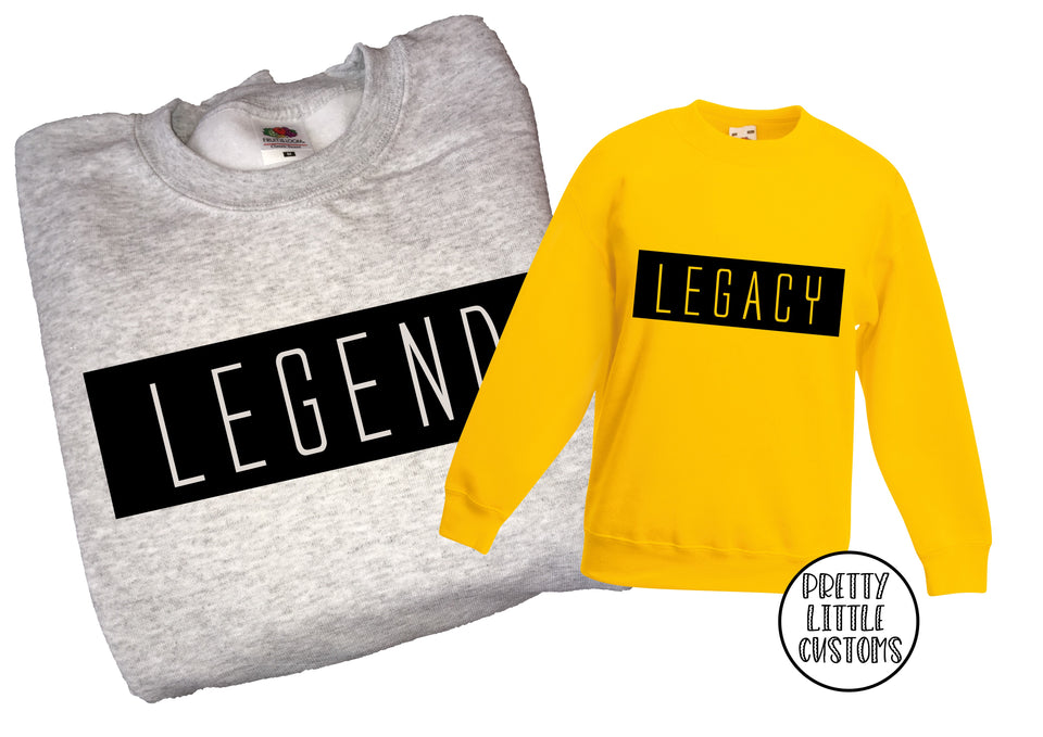 Legend & Legacy Father's Day sweater set