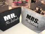 Personalised Your Surname couple travel bag set