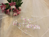 Personalised Future Mrs (Your Name) hen party veil