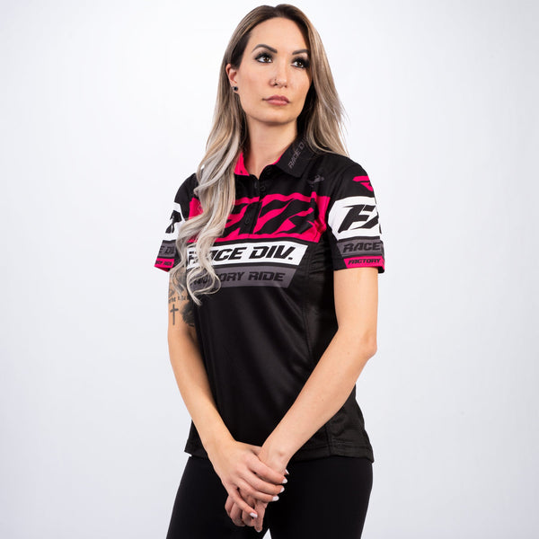 Women's Race Division Polo Shirt