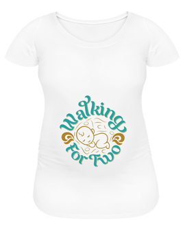 Women's Maternity T-Shirt - white