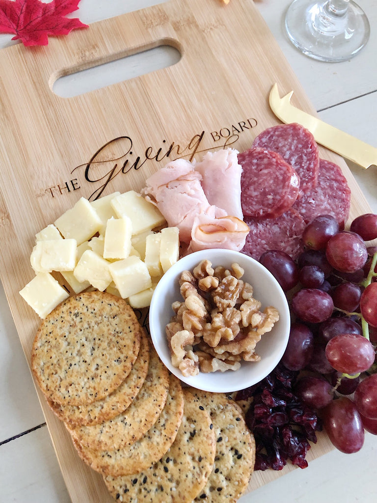 """The Giving Board"" Cutting Board"