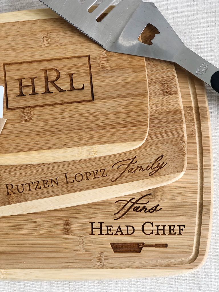Customized Cutting Board Set