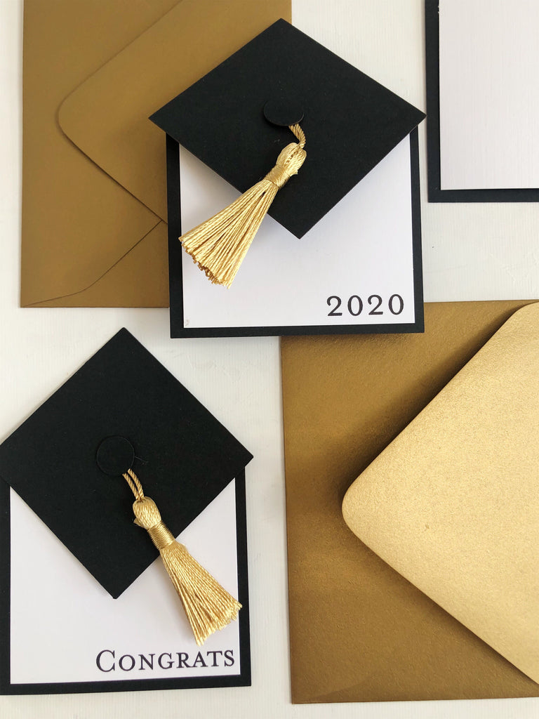 Hat & Tassel Graduation Card