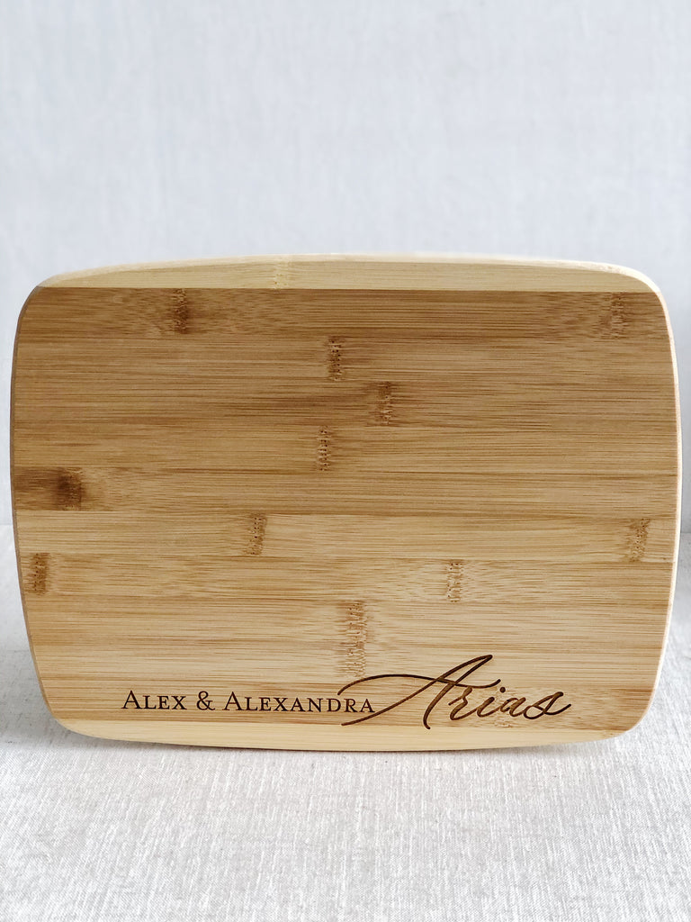 Custom Personalized Cutting Board