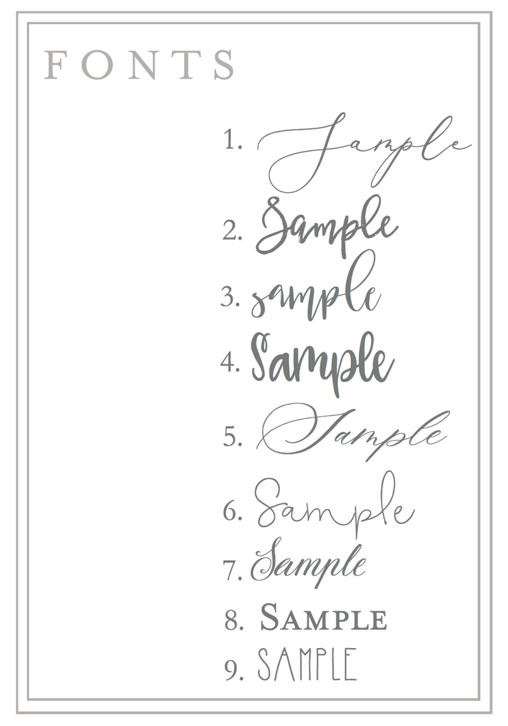 Custom Name Stationery