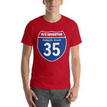 Load image into Gallery viewer, Real Estate Interstate Investor Series (I-35 DFW) Short-Sleeve Unisex T-Shirt