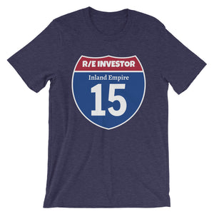 Real Estate Interstate Investor Series (I-15 Inland Empire) Short-Sleeve Unisex T-Shirt