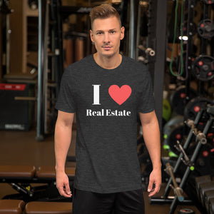 I (Heart) Real Estate Short-Sleeve Unisex T-Shirt