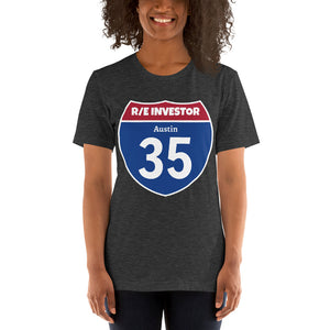 Real Estate Interstate Investor Series (I-35 Austin) Short-Sleeve Unisex T-Shirt