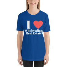 Load image into Gallery viewer, I (Heart) Wholesaling Short-Sleeve Unisex T-Shirt