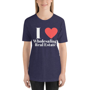 I (Heart) Wholesaling Short-Sleeve Unisex T-Shirt