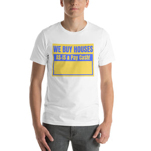 Bandit Shirt (Blue/Gold Box) Short-Sleeve Unisex T-Shirt